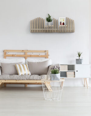 Köllen Bookshelf White. Scandinavian furniture is the perfect blend of a style that is modern and functional.