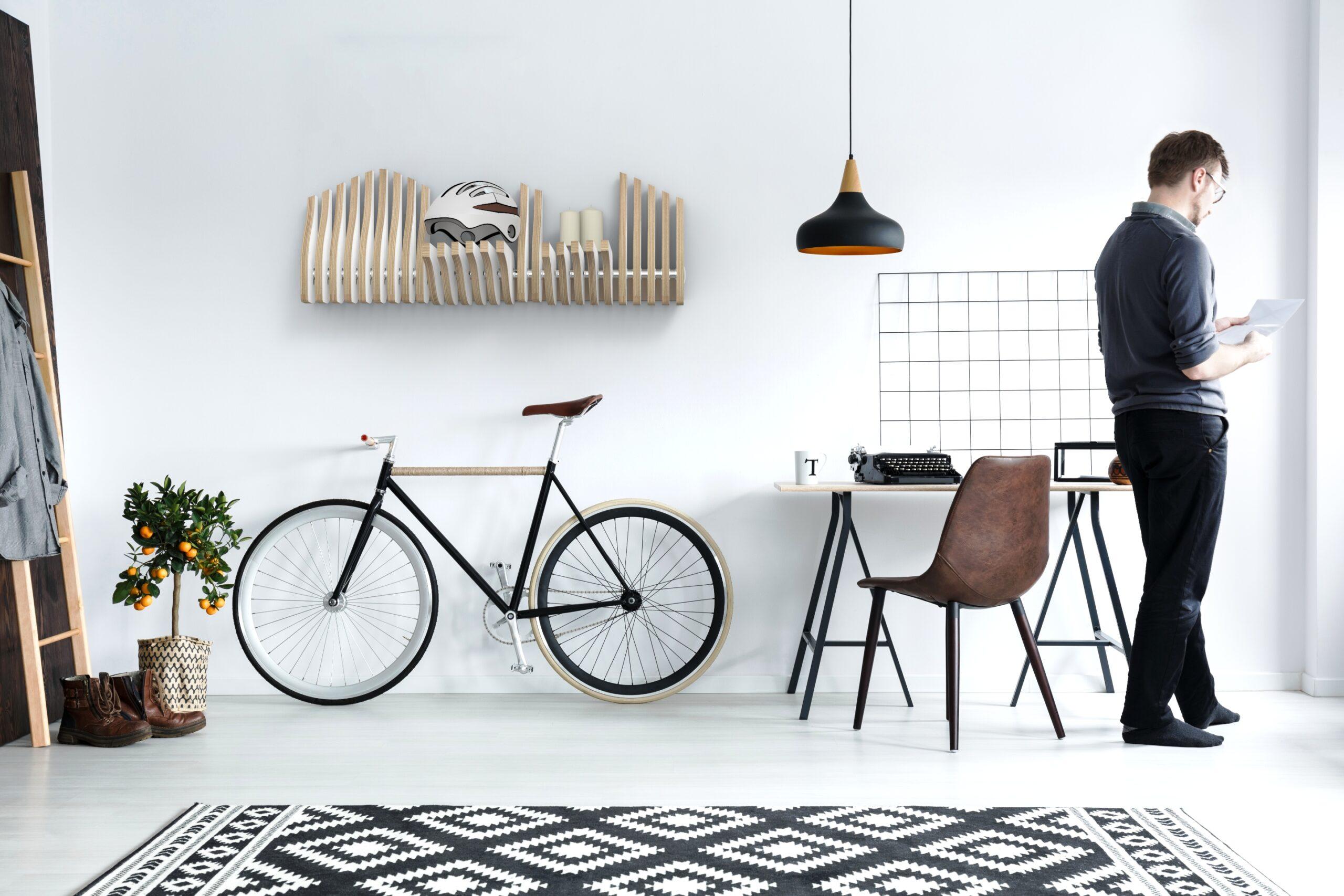 Köllen Bookshelf White. Nodic and minimalistic interior design style.